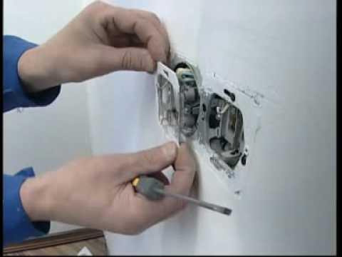 Монтаж розетки своими руками фото
